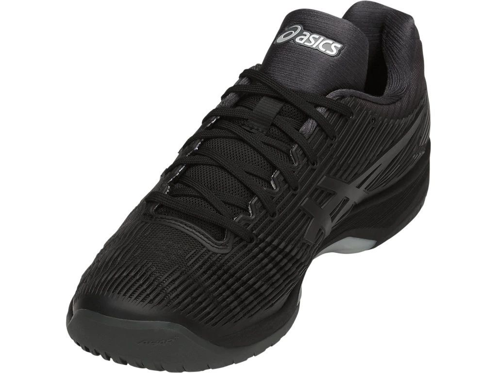Tênis Asics Gel Solution Speed FF Preto  - REAL ESPORTE