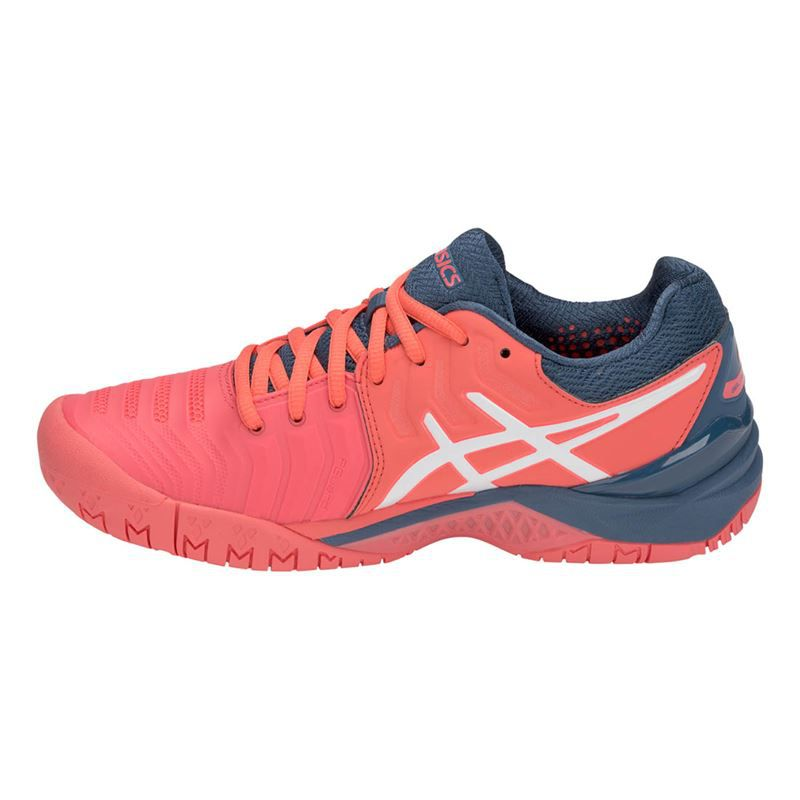 Tênis Asics Gel Resolution 7 Rosa - Quadra Rápida  - REAL ESPORTE