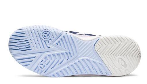 Tênis Asics Gel Resolution 8 Clay Azul Femenino Peacoat/White - Saibro  - REAL ESPORTE