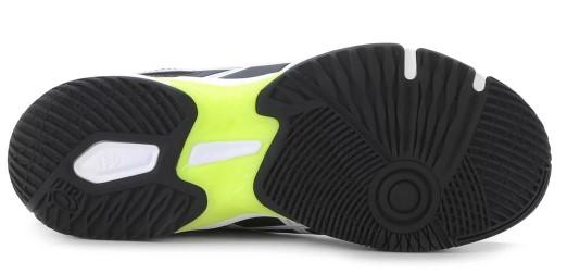Tenis Asics Gel Rocket 10 Black /White  - REAL ESPORTE