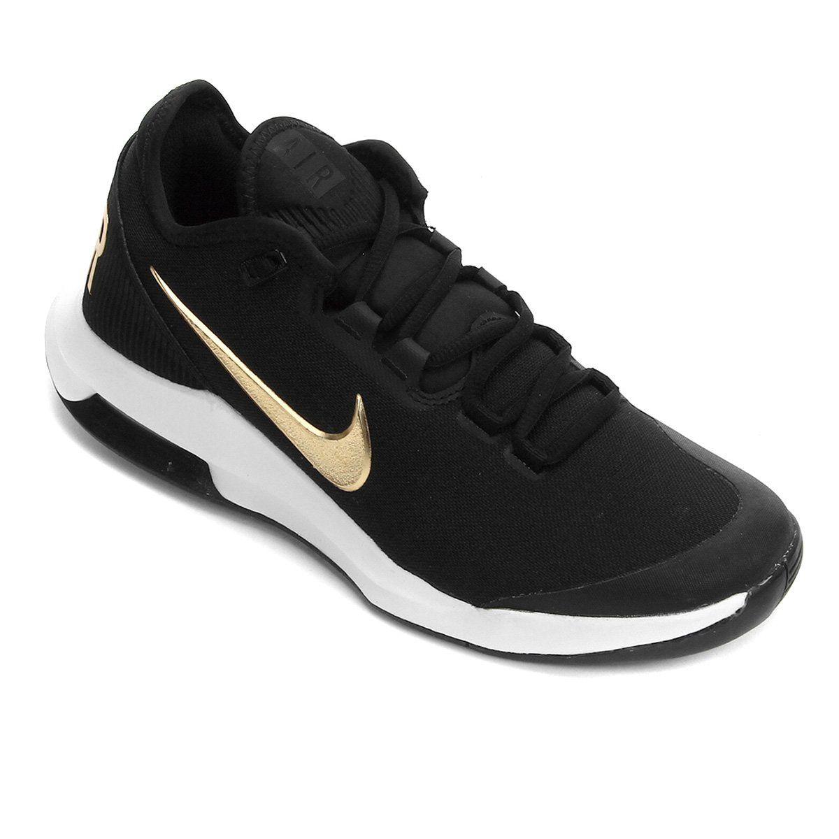 Tênis Nike Air Max Wildcard HC Masculino - Preto e Dourado  - REAL ESPORTE