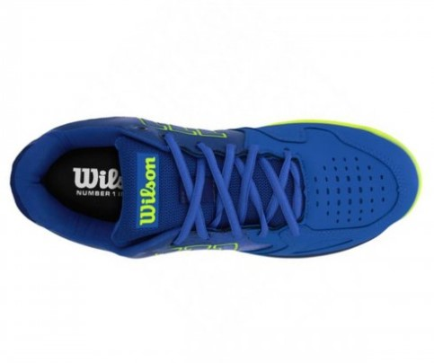 Tênis Wilson K Energy - Azul/Verde  - REAL ESPORTE