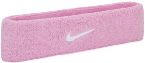 Testeira Nike Swoosh HeadBand  - Rosa  - REAL ESPORTE