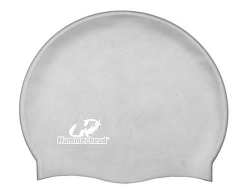 Touca de Natação de Silicone Hammerhead Lisa XL - Cinza  - REAL ESPORTE