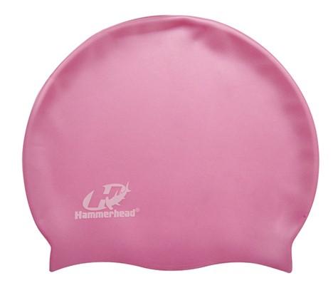 Touca de Natação de Silicone Hammerhead Lisa XL - Pink  - REAL ESPORTE