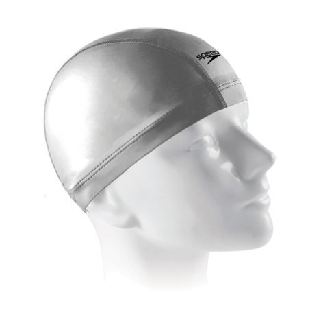 Touca de Natação Speedo Comfort Cap - Cinza  - REAL ESPORTE