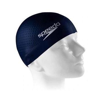 Touca de Natação Speedo Massage Cap - Azul/Marinho  - REAL ESPORTE
