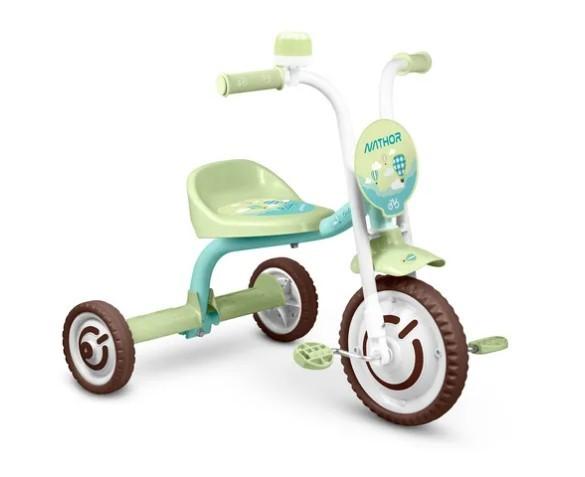 Triciclo Infantil Nathor Baby  - REAL ESPORTE