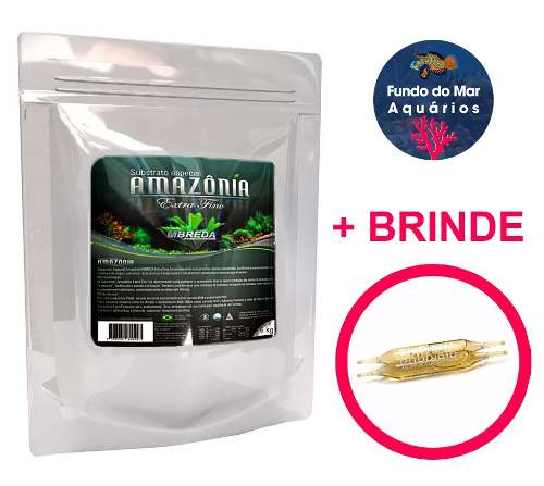 Substrato Fértil Amazonia Extra Fino Mbreda 6kg + Brinde