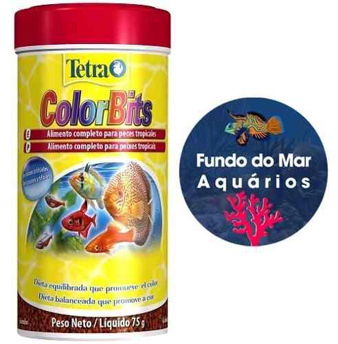 Ração Tetra Colors Bits Granules 75g