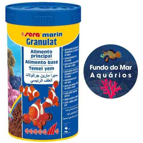 Ração Sera Marin Granulat 45g Peixe Marinhos
