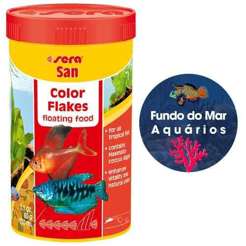 Ração Sera San Para Coloração E Crescimento 210g