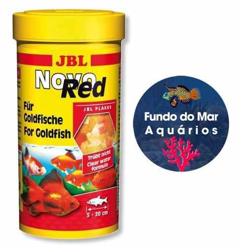 Ração Jbl Para Peixe Novo Red 250ml 45g