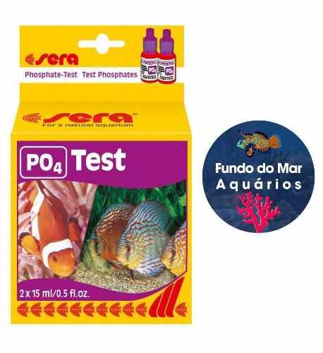 Sera Teste Fosfato Po4 P/ Aquario Marinho Ou Doce