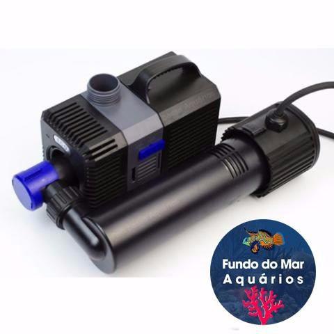 Bomba Submersa Eco Sunsun Ctp-5000u Uv 9w 5000l/h