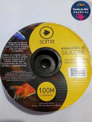 Soma Mangueira De Silicone 100 Metros