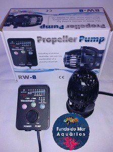 Jebao Wireless Rw-8 Wave Maker 700 A 8000 Litros