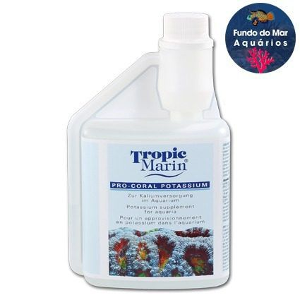 Suplemento de Potássio Tropic Marin Potassium 500ml Pro Coral