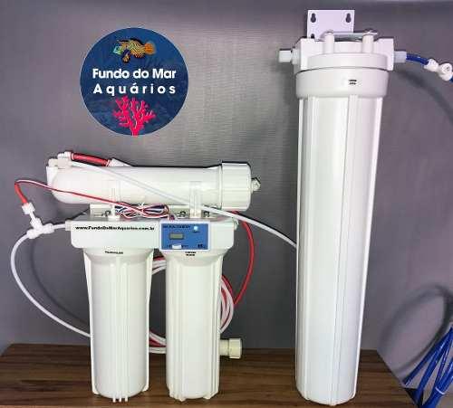 Filtro Osmose Reversa 100gpd+tds Inline+carcaça 20º Resina