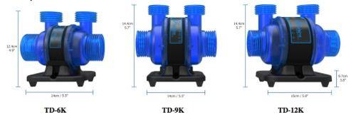Bomba Submersa Maxspect Turbine Duo 6k 6500l/h