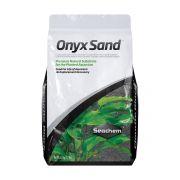 Areia Natural para Aquário Plantado Seachem Onyx Sand 3,5kg