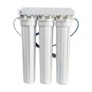 Filtro Deionizador 3 Estágios Carcaça De 20º Polegadas