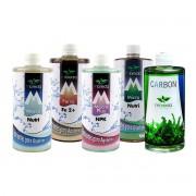 Kit Fertilizantes para Aquários Plantados Mbreda 500ml + Carbon