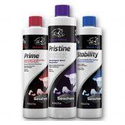 Kit Seachem Prime + Stability + Pristine de 325ml