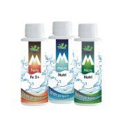 Mbreda Kit Nutrientes Macro Nutri, Micro Nutri e Fe de 120ml