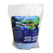 Mbreda Sky Sand 2Kg Areia Branca e Azul Decorativa