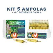 Bactérias Naturais Prodibio Biodigest -  KIT 5 Ampolas