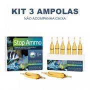 Redutor de Amônia Prodibio Stop Ammo - 3 Ampolas