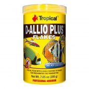Ração à base de Alho Tropical D-Allio Plus Flakes 20g