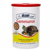 Ração Alcon Gammarus 28g base de Crustáceos para Tartarugas