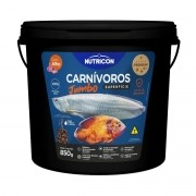 Ração Nutricon Carnivoros Superficie Jumbo com Alho 850g