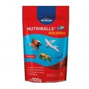 Ração Nutricon Nutriballs Baby 100g - alevinos e juvenis