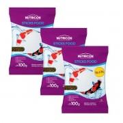 Ração Nutricon Sticks Food Dia-A-Dia 300g - Carpas Adultas