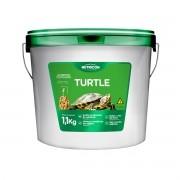 Ração Nutricon Turtle Balde 1,1kg - para Répteis Aquáticos
