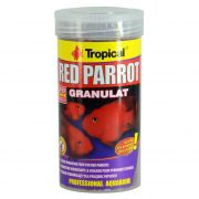Ração para Peixes Papagaio Tropical Red Parrot Granulat 100g