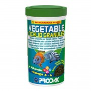 Ração Prodac Vegetable Cichlid Granules 100g - Herbívoros