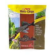 Ração p Cascudos de Raça Wels-Chips 15g - Ancistrus e Pleco