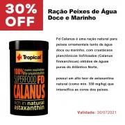 Ração Tropical FD Calanus 12g  Peixes de Água Doce e Marinho