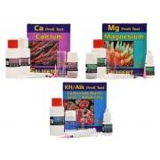 Salifert Teste Kit, Ca + Mg + KH