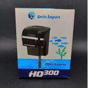 Filtro Externo Ho 300 Para Pequenos Aquários 300 L/h 7w