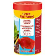 SERA RED PARROT 80G - Alimento para Ressaltar as Cores