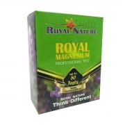 Teste Royal Nature Magnésio Aquário Marinho 50 Testes