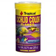 Ração Premium Ciclídeos Tropical Cichlid Color Flakes 50g