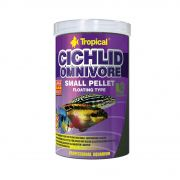 Tropical Cichlid Omnivore Small Pellet 90g