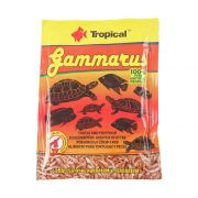 Tropical Ração Gammarus 12g Sachê para Peixes e Tartarugas