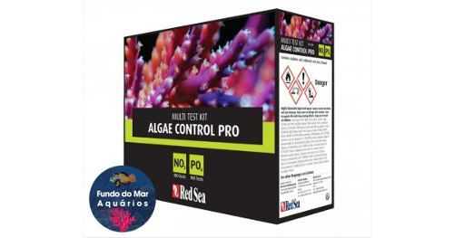 Teste Red Sea Kit Algae Control (no3/po4)